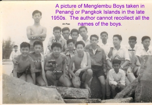 A picture of Mengelembu boy