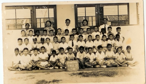 ACS stories 1950s-early 60s ~ The first day and year in school -1953